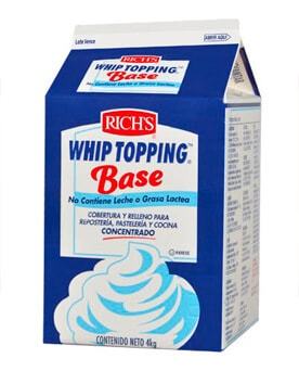 Bakels Rich´s Whipp Topping Base