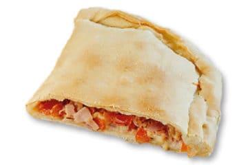 Pizza Calzone con Champiñones