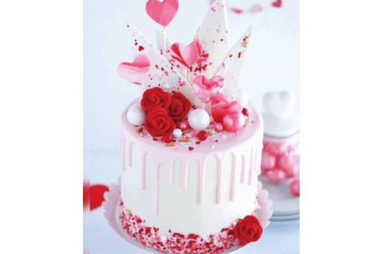 Bakels Recetas San Valentin Torta Amor Cremoso